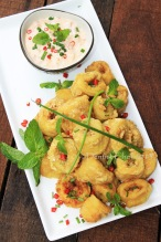 crispy deep fried squid beer batter calamari recipe fish and chips