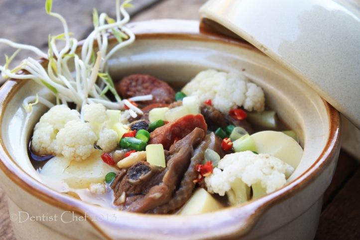 recipe chicken claypot tofu sea cucumber mushrooms chinese claypot