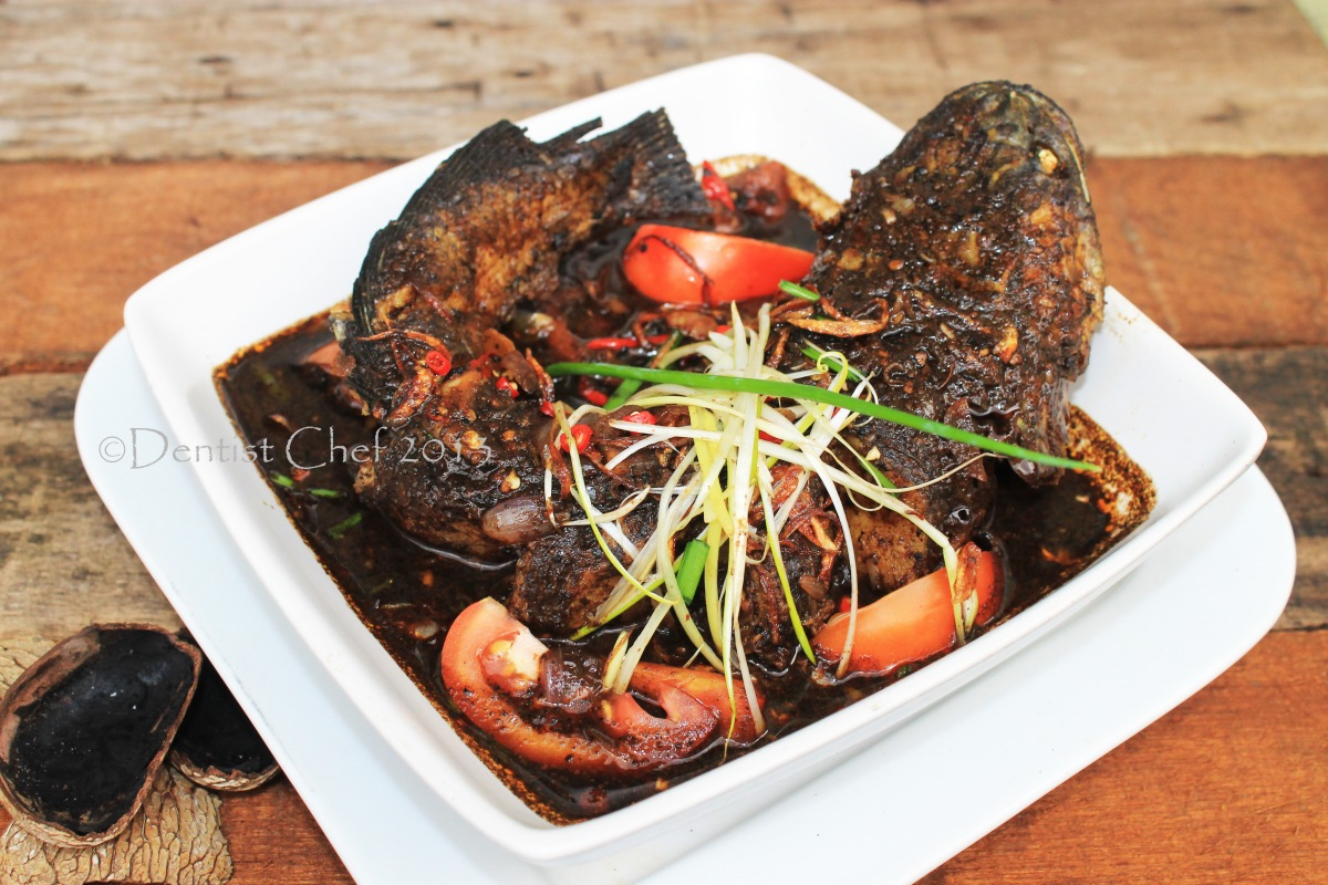 Resep Gabus Pucung Khas Betawi, a Jakarta's Herritage Spicy Snakehead Fish Stew