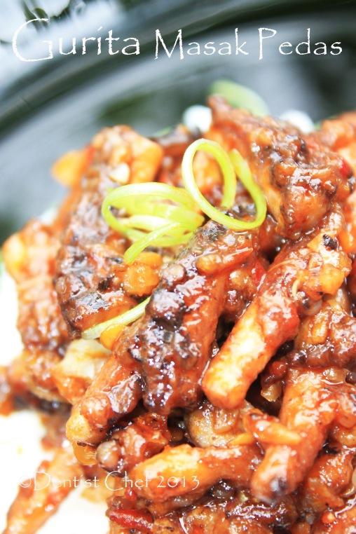 resep gurita pedas masakan gurita cabe octopus recipe