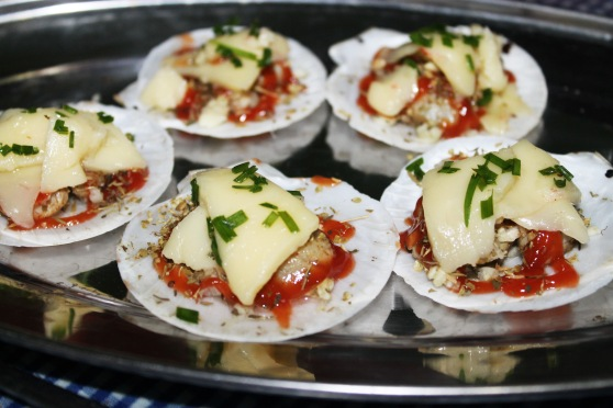 scallop morney recipe  baked cheese scallop
