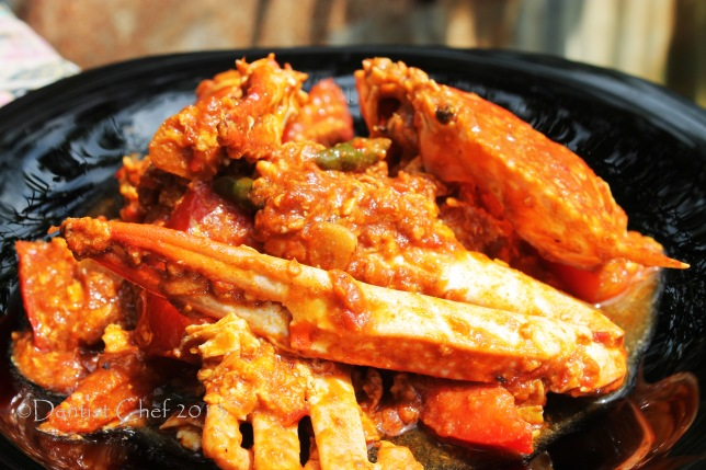 singapore chilli crab recipe step making chilli crab