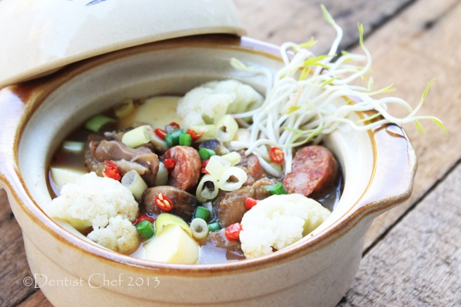 tofu claypot recipe braised chicken with tofu mushrooms