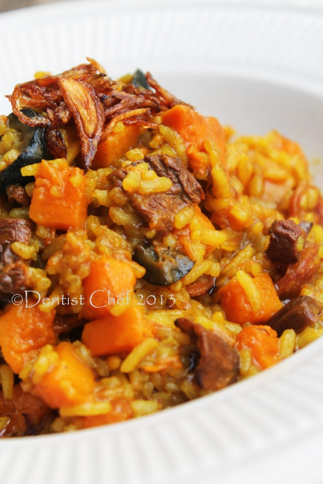 easy pumpkin risotto recipe squash rice risotto