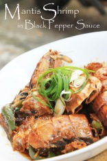 mantis shrimp recipe black pepper mantis prawn