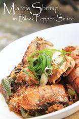 mantis shrimp recipe black pepper mantis prawn