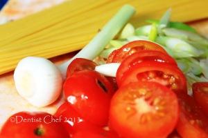 angel hair pasta cherry tomato garlic green recipe lobster