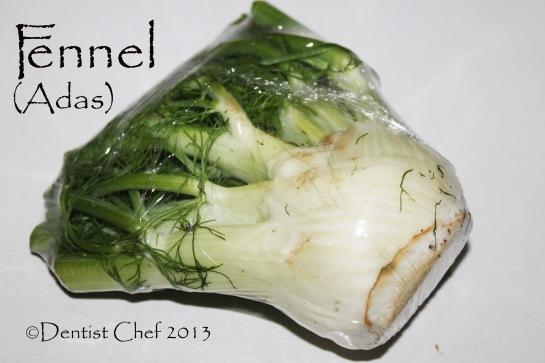 fennel recipe adas