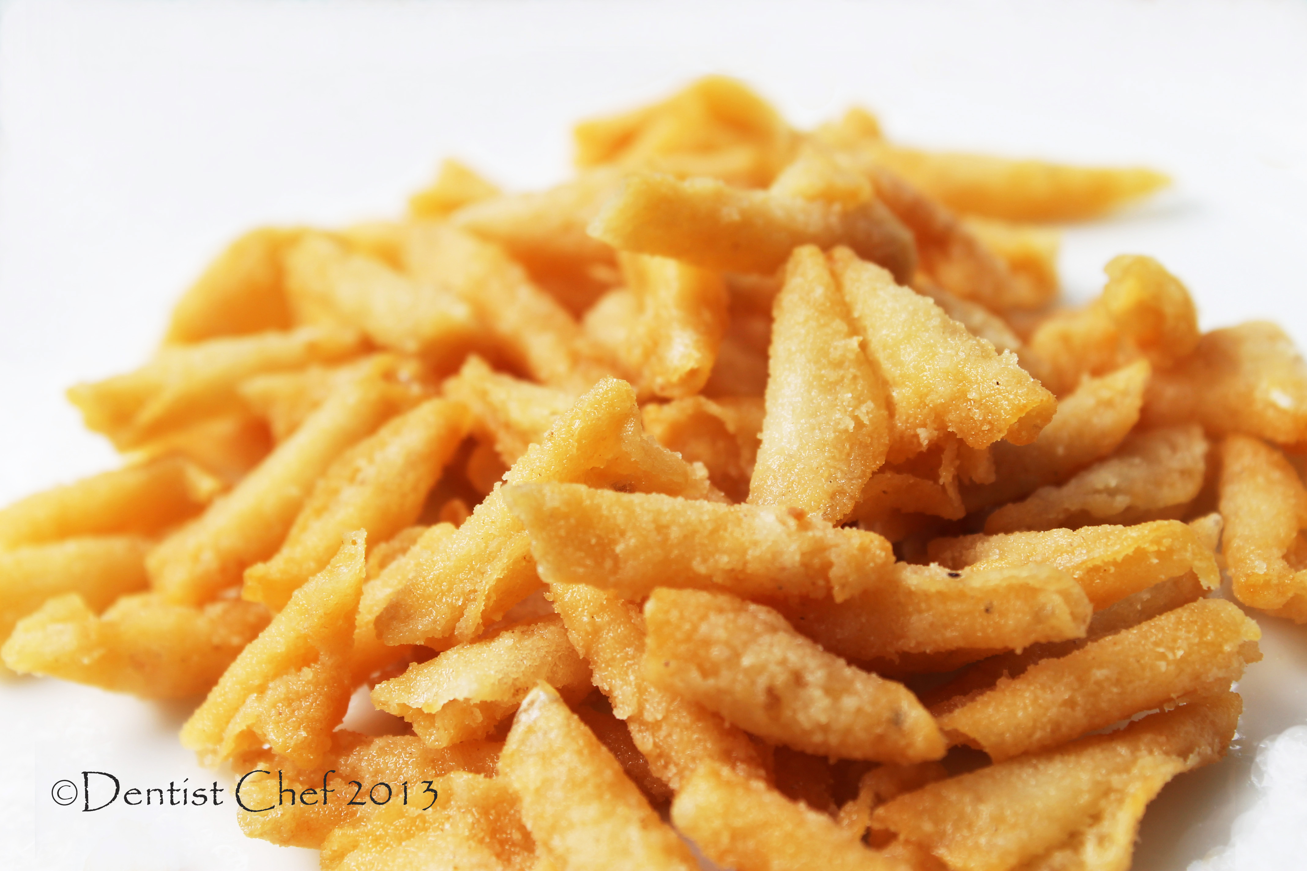 Deep fried fish scales recipe crispy and crunchy snack for Deep fried fish