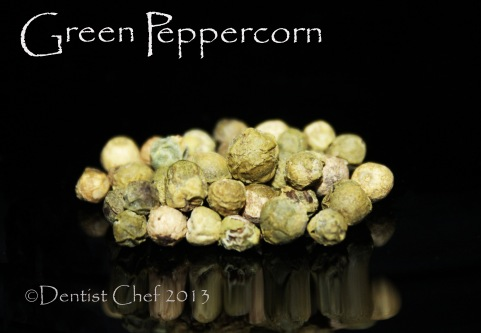 green peppercorn recipe