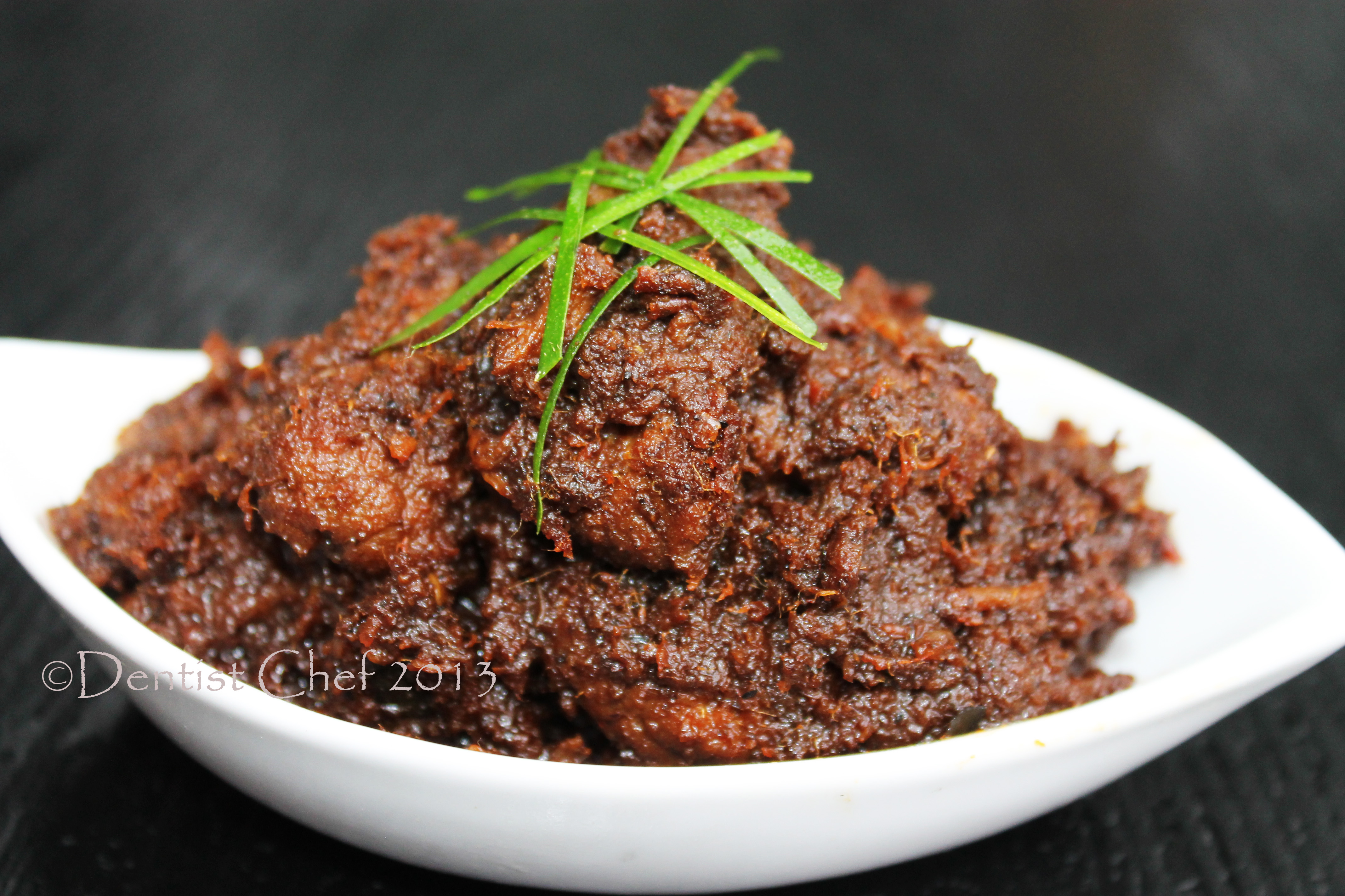 Indonesian Beef Rendang Recipe, Resep Rendang Padang Khas Minangkabau ...