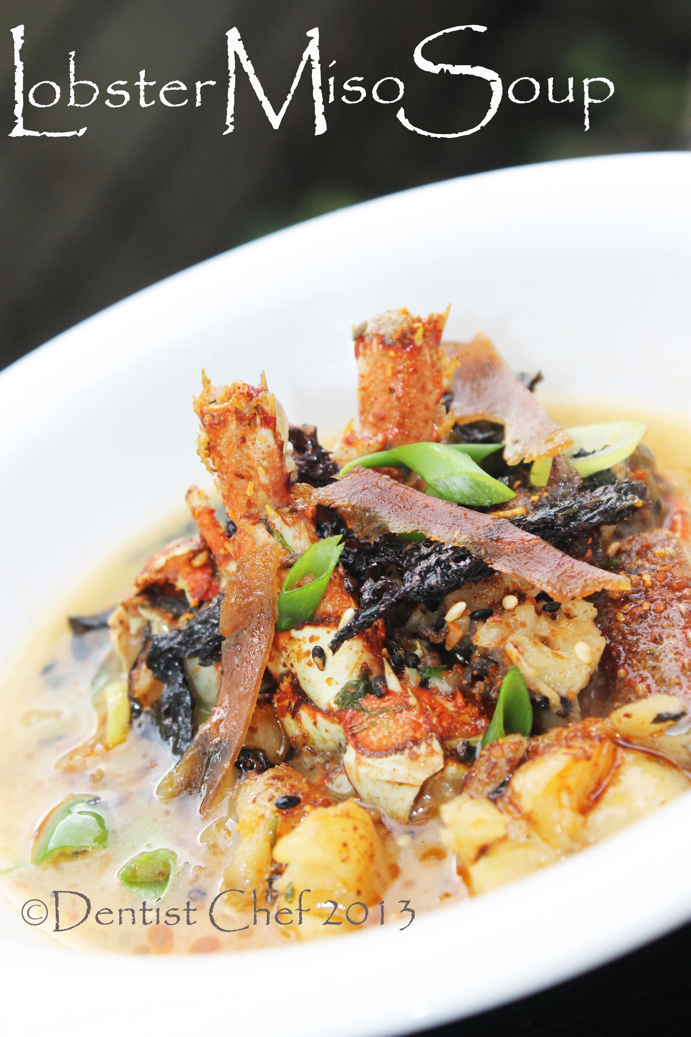 Lobster Miso Soup: Earthy Japanese Fermented Bean Lobster ...