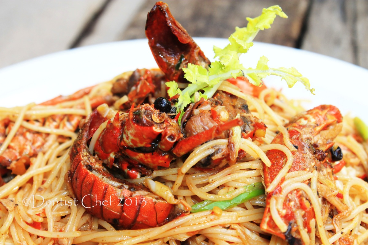 Spicy Lobster Pasta With Cherry Tomato Chilli And Garlic