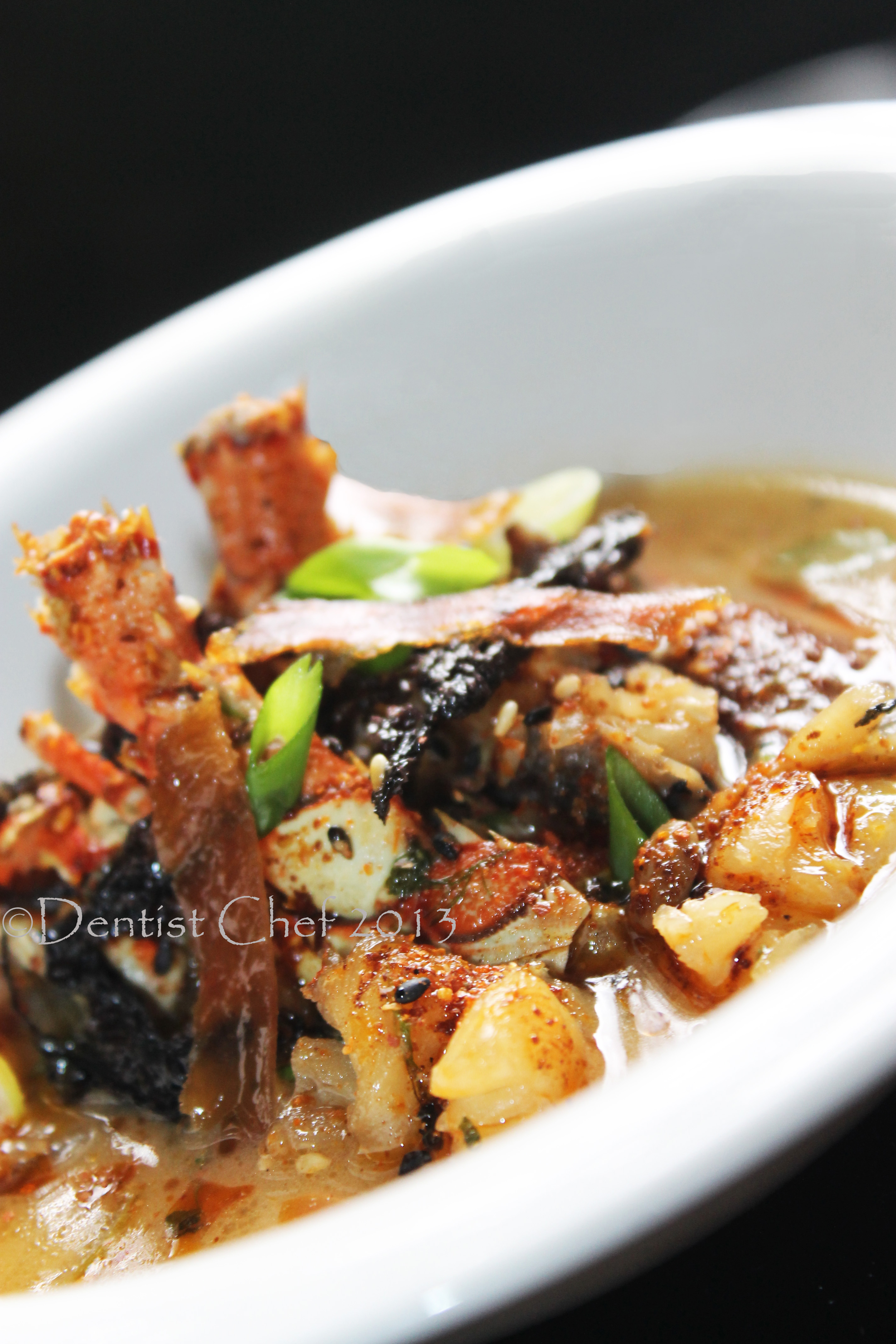 Lobster Miso Soup: Earthy Japanese Fermented Bean Lobster Soup Recipe | DENTIST CHEF