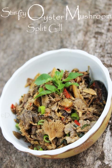 oyster mushrooms stir fried recipe white mushrooms chinese garlic chilli