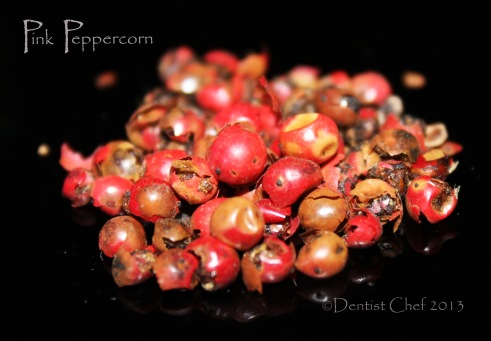 pink peppercorn recipe