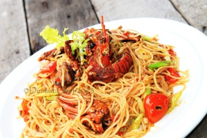 recipe lobster pasta spicy recipe lobster noodle