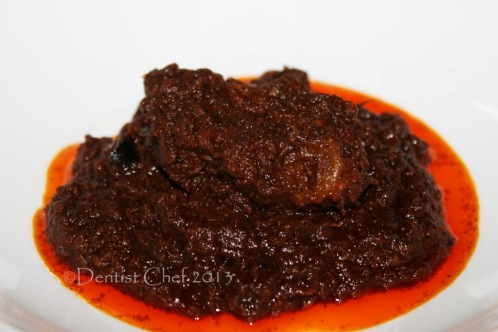 recipe making indonesian beef rendang
