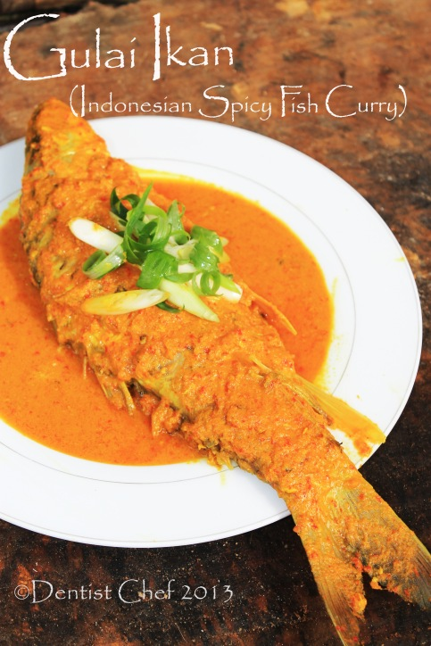 resep gulai ikan coconut curry fish