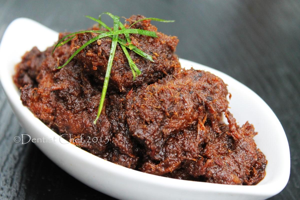 Indonesian Beef Rendang Recipe, Resep Rendang Padang Khas Minangkabau Step by Step