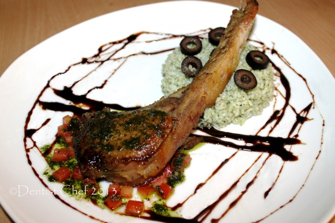 rib eye steak tomahawk steak recipe salsa verde