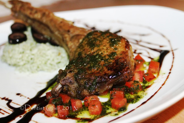 ribeye steak recipe tomahawk steak salsa verde