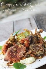 crispy soft shell crab salted egg yolk batte friedr