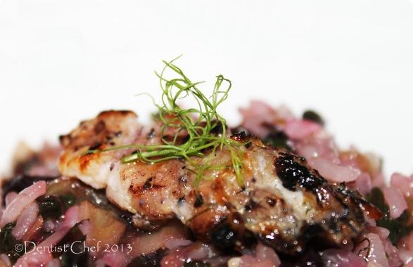 grilled mantis shrimp recipe canocchie risotto radicchio recipe