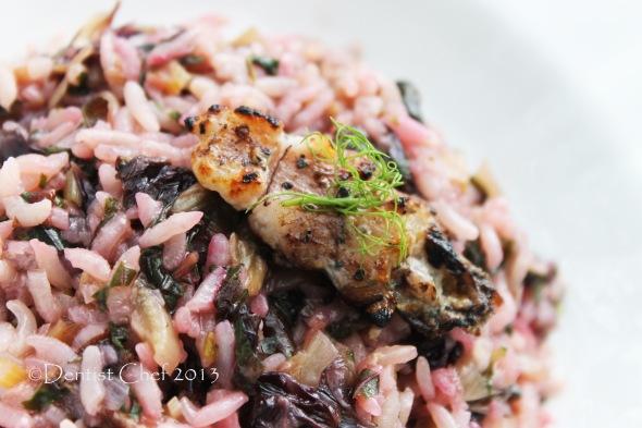radicchio risotto recipe best italian red endive recipe grilled mantis shrimp