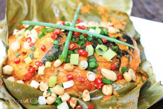 resep ikan tapah pepes tempoyak palembang