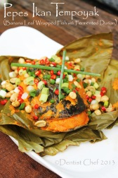 resep pepes tempoyak ikan pedas brengkes durian palembang