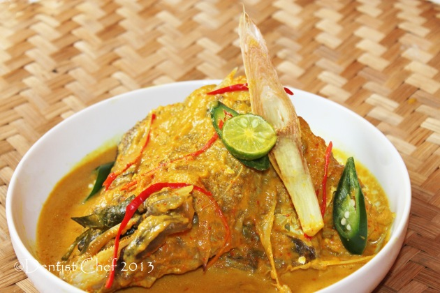 resep woku belanga ikan kerapu grouper spicy curry
