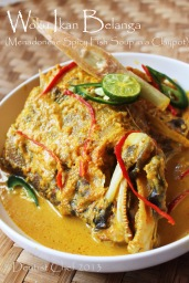 resep woku ikan belanga goropa kerapu spicy fish soup