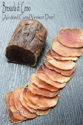 bresaola venison deer homemade recipe dry cured venison