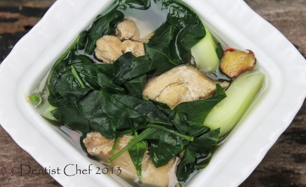 chicken tinola soup recipe phillipines tinolang manok recipe