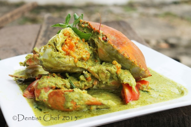 crab curry green thai recipe  spicy green chili