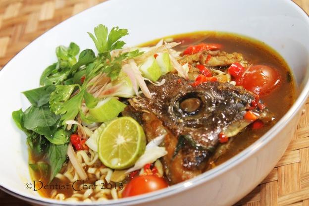 fish head asam laksa penang malaysia recipe