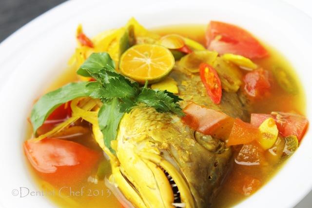 Fish Soup recipe palumara ulu juku sup kelapa kakap
