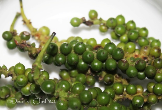 fresh green peppercorn recipe