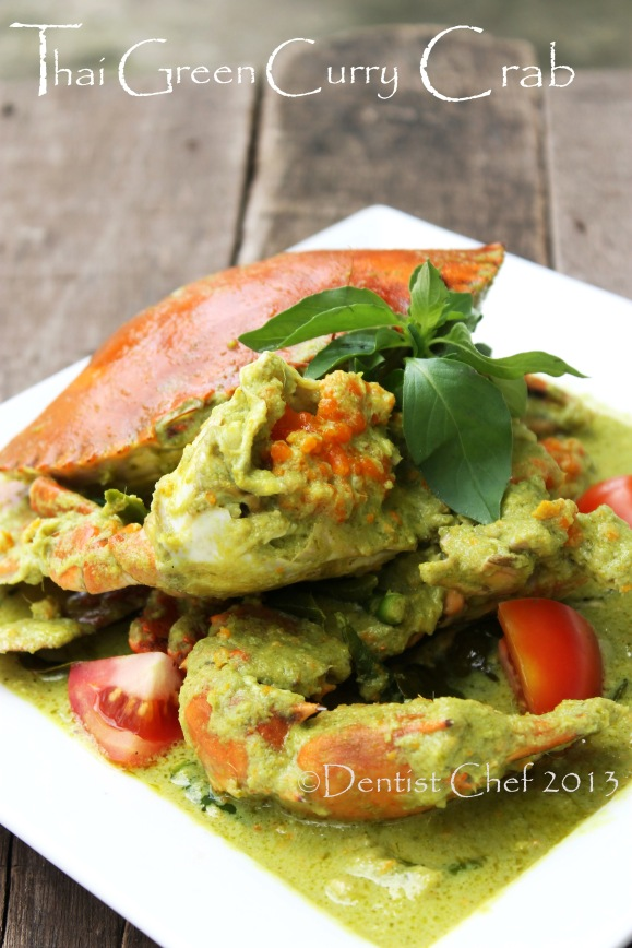 recipe crab thai green curry hot spicy