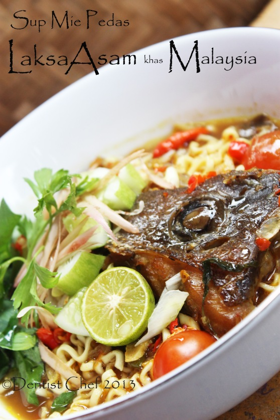resep laksa malaysia fish head spicy soup