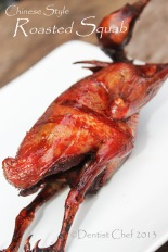 roasted squab pigeon dove chinese style recipe crispy skin tender meat tips
