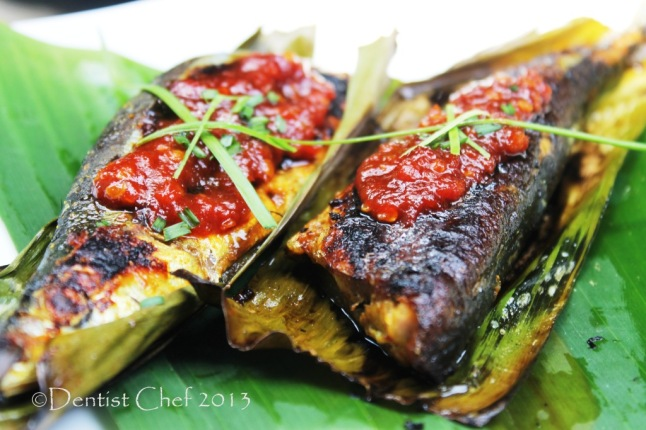 Recipe Grilled Sanma Fish Wrapped in Banana Leaf with Spicy Miso and ...