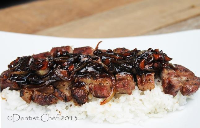 shallot jam steak dry aged black angus recipe