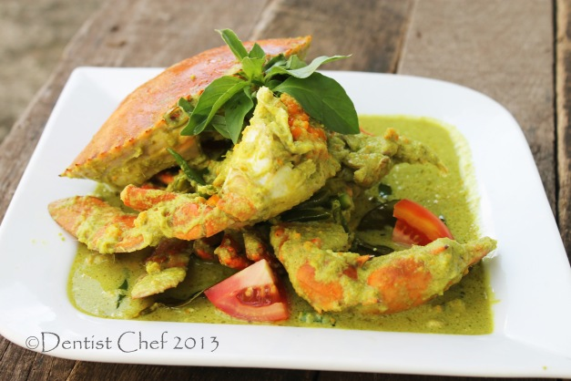 thai green curry crab recipe thai authentic