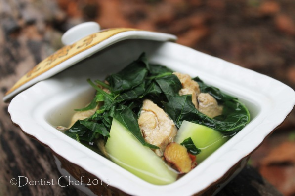 tinola chicken soup recipe ginger green papaya chilli leaf