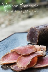 venison bresaola recipe homemade cured deer loin