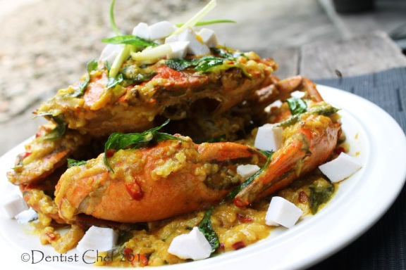 cheese sauce crab stir fry recipe salted egg yolk