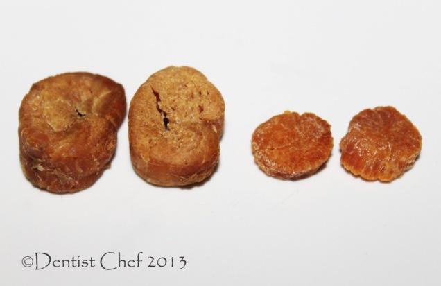 Dried Scallops (Daging Kerang Kampak Kering)
