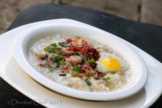 Dried Scallop Rice Porridge or Conpoy Congee Recipe